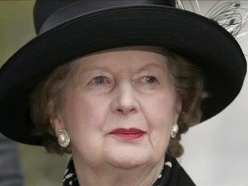 La exprimera ministra británica Margaret Thatcher