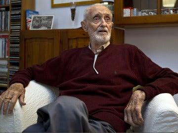 El escritor, economista y académico José Luis Sampedro