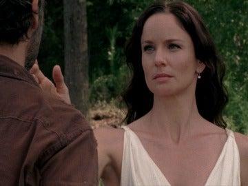 Rick tiene visiones con Lori