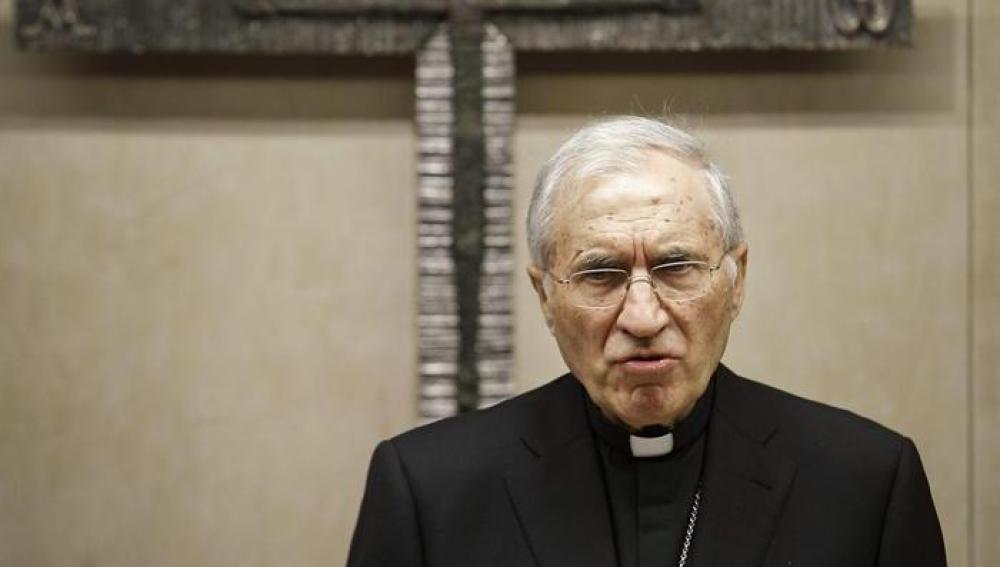 El presidente de la Conferencia Episcopal, Antonio María Rouco Varela