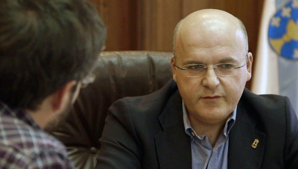 El presidente de la Diputación de Ourense Manuel Baltar