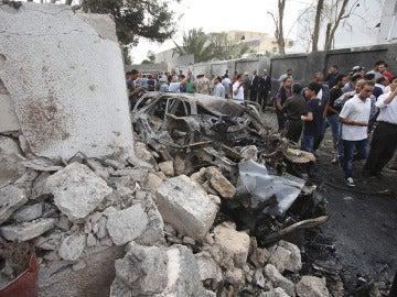 Atentado contra la embajada francesa en Trípoli
