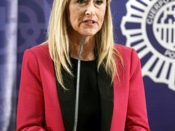La delegada del Gobierno en Madrid, Cristina Cifuentes