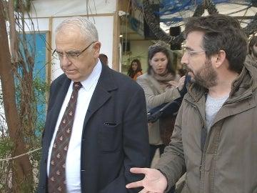 Jordi con Juan Cotino, actual presidente de las Corts Valencianes