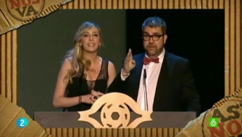 Flo y Anna en los Premios Iris