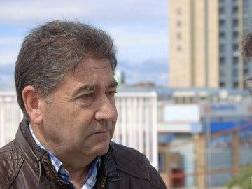 Jorge Álvarez, maquinista de la línea de FGV