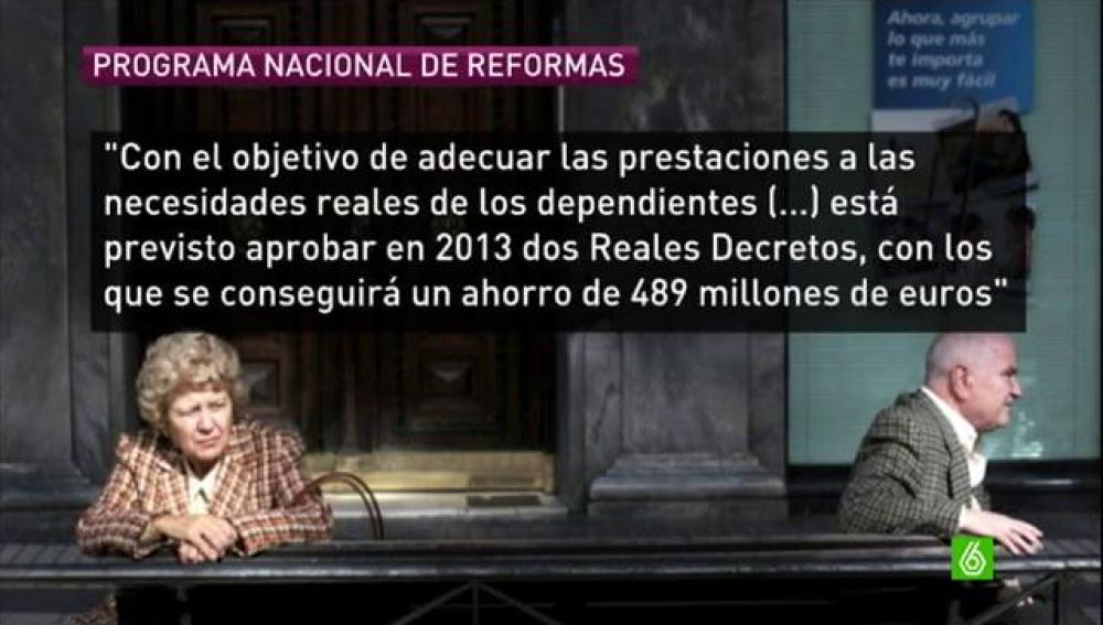 El Gobierno recortará otros 3.134 millones en Sanidad y 828 en Dependencia