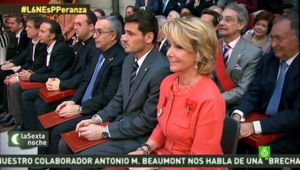 ¿Cuáles son las aspiraciones reales de Esperanza Aguirre?