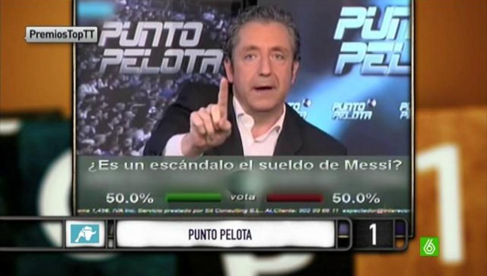 """Josep Pedrerol: """"Con todo el cariño, becarios no"""""""