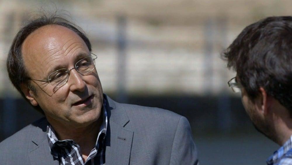 Ferran Ballester, profesor de la Universitat de València