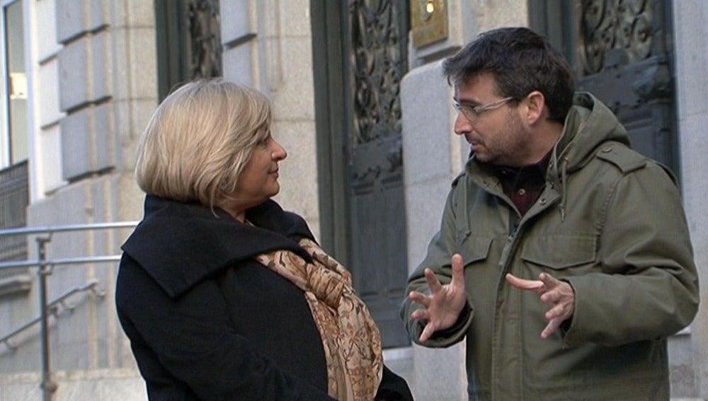 María Teresa Sáez, exportavoz de la Asociación Profesional de la Magistratura