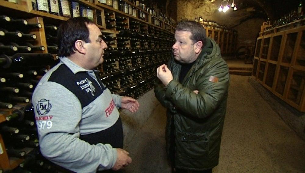 Alberto Chicote charla con Cristóbal