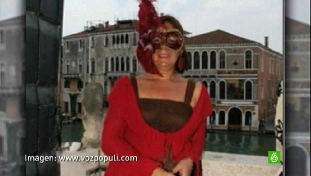 Beatriz Escudero en el Carnaval de Venecia