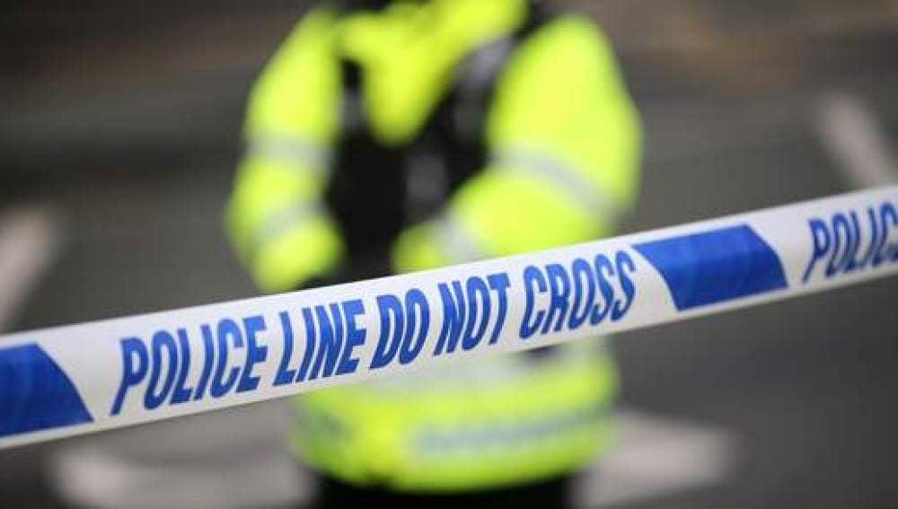 Imagen de archivo de un cordón policial en Londres