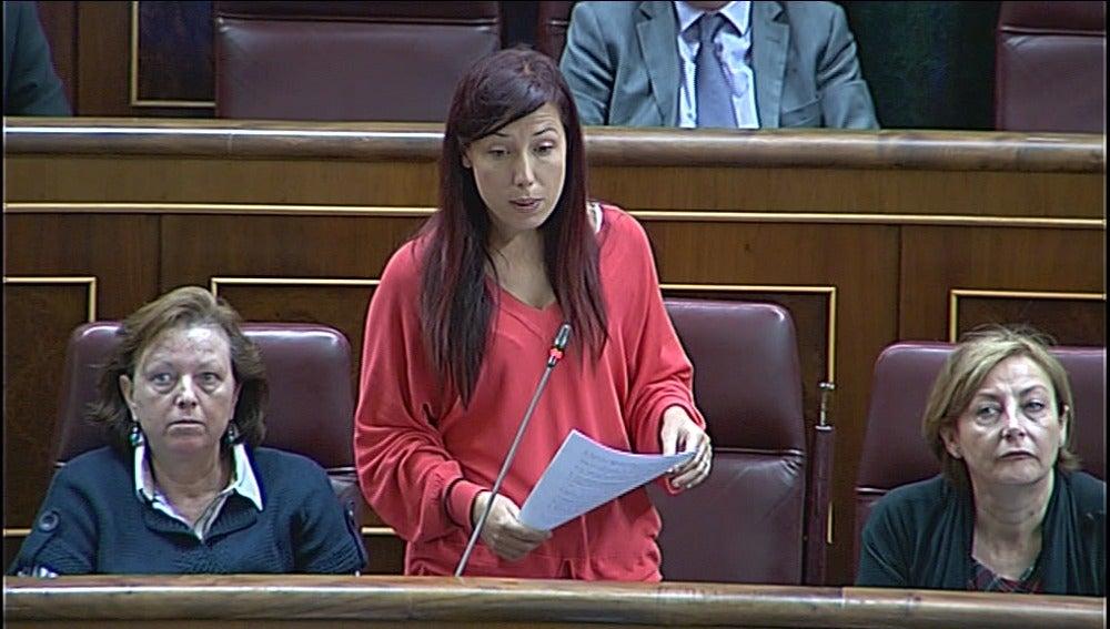 La diputada socialista Patricia Hernández