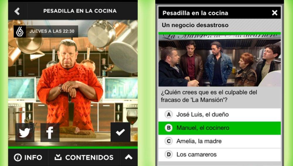 'Pesadilla en la cocina' en ATRESMEDIA CONECTA