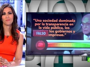 Fact check transparencia