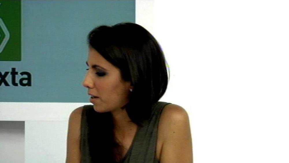 Ana Pastor durante el videoencuentro