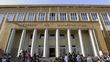 Estudiantes en la Universidad Complutense de Madrid
