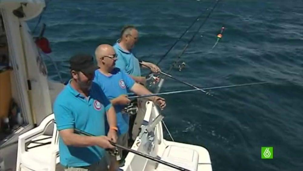 Pesca solidaria para el banco de alimentos de Valencia