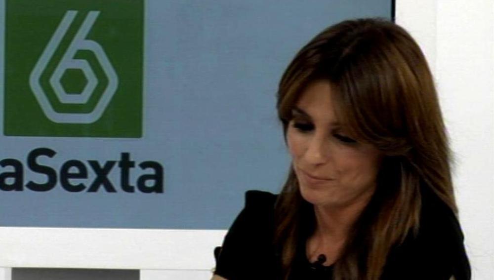 Helena Resano sonríe en el videoencuentro