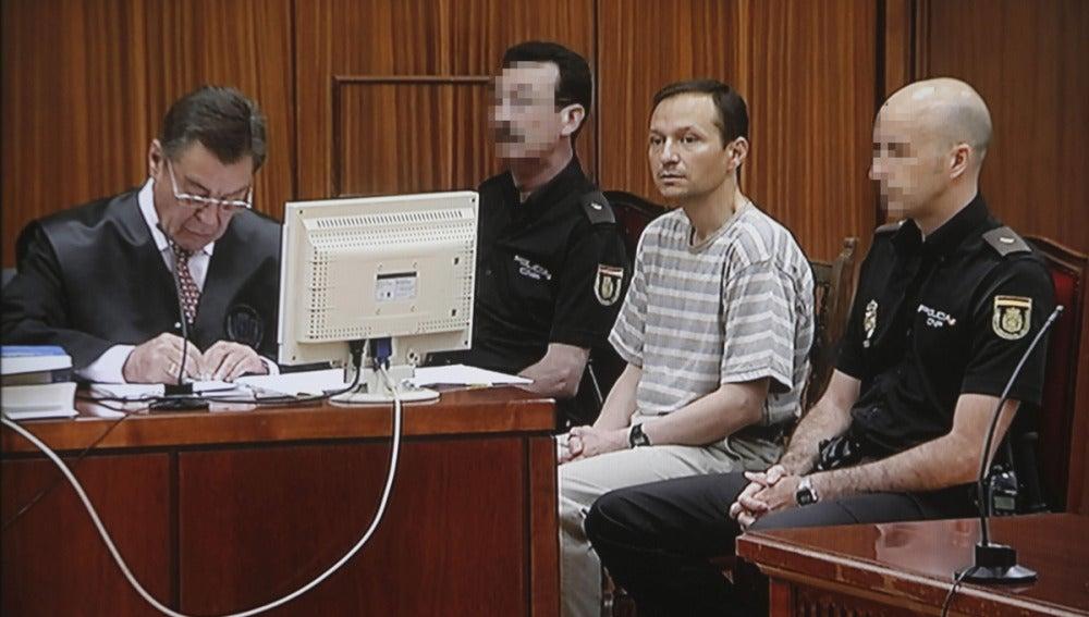 Bretón en la cuarta jornada del juicio