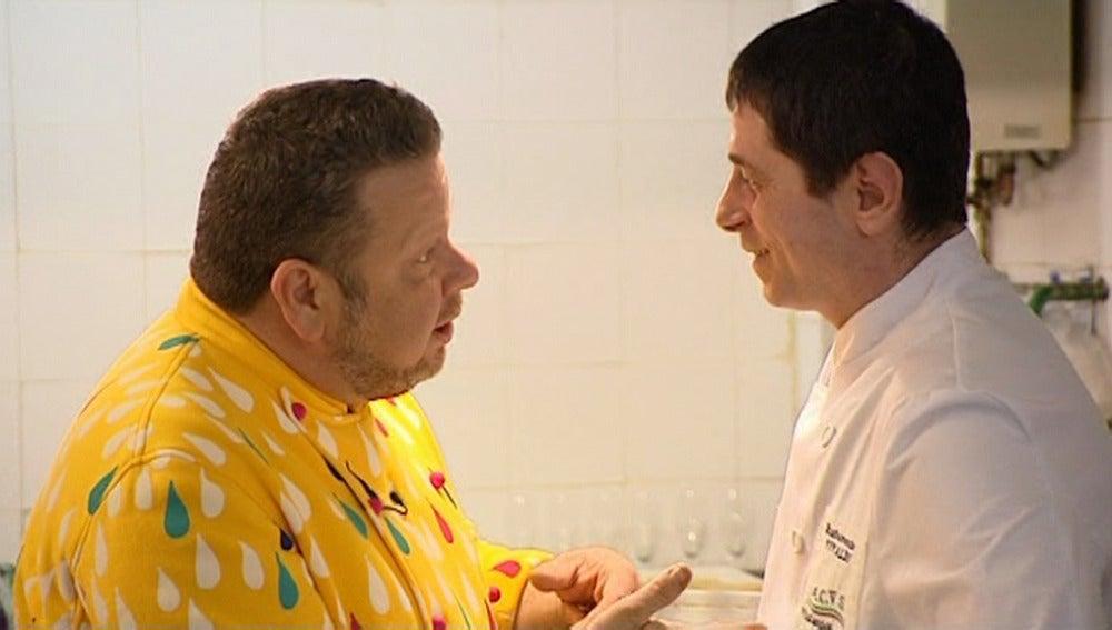 Chicote habla con Giuliano