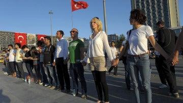 Manifestación Turquía