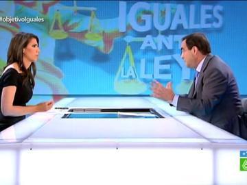 José Bono charla con Ana Pastor