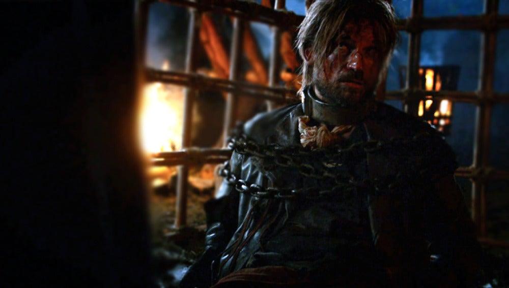 Jaime Lannister se sincera con Catelyn Stark