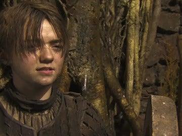Maisie Williams habla del cambio de look de Arya Stark