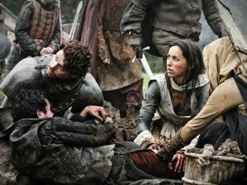 Robb Stark y Talisa