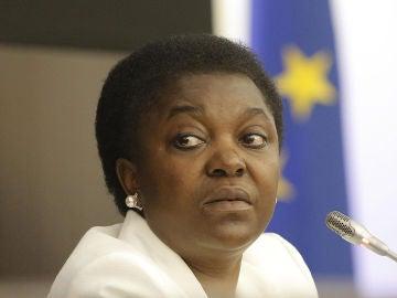 La ministra Cécile Kyenge