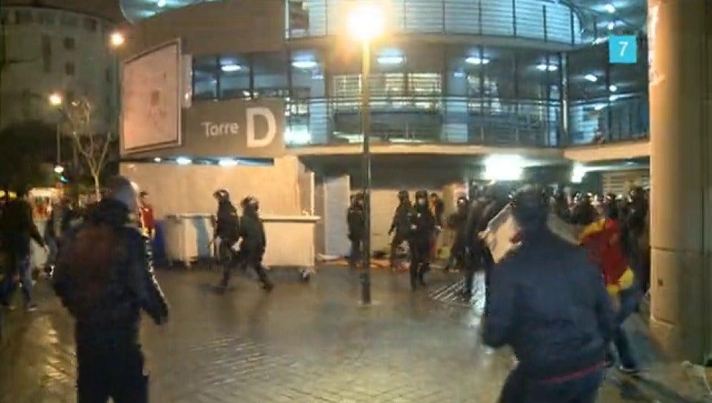 Policías en acción en laSexta