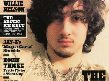 Portada de la revista Rolling Stone con Tsarnaev