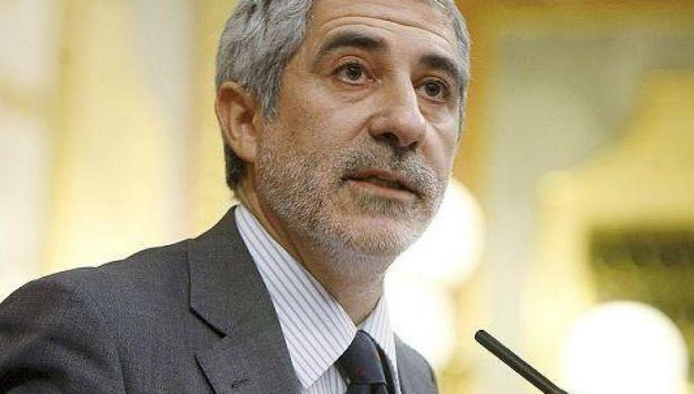 Gaspar Llamazares en el Congreso de los Diputados (Archivo)