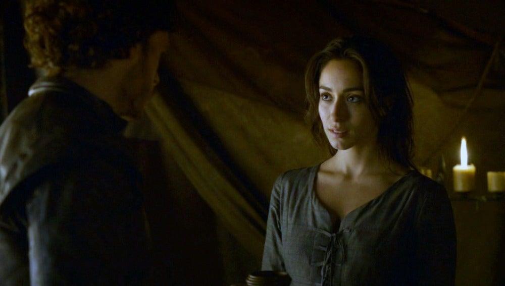 Robb y Talisa