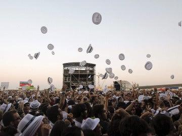 Ambiente del Arenal Sound en la edición de 2012.