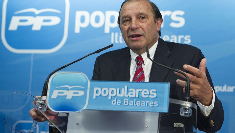 """Martínez Pujalte: """"Queremos que se sepa el origen del dinero de Bárcenas"""""""