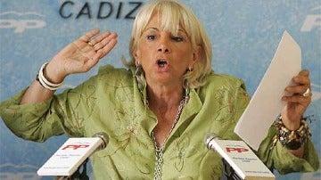 Teófilla Martínez, alcaldesa de Cádiz