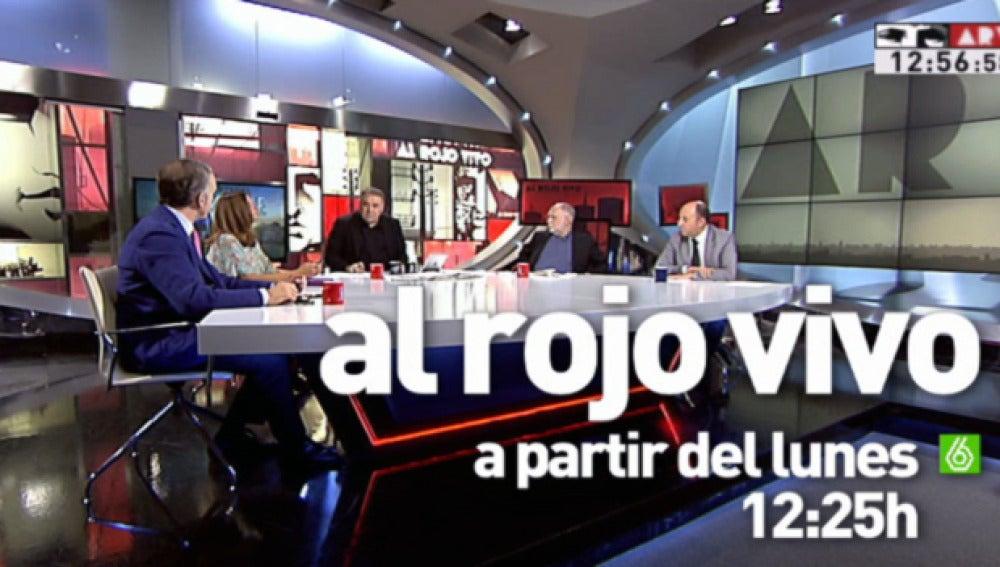 Ferreras vuelve con Al Rojo Vivo