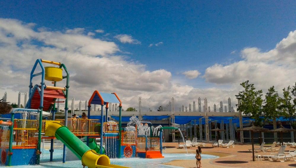Imagen de las instalaciones del parque acuático