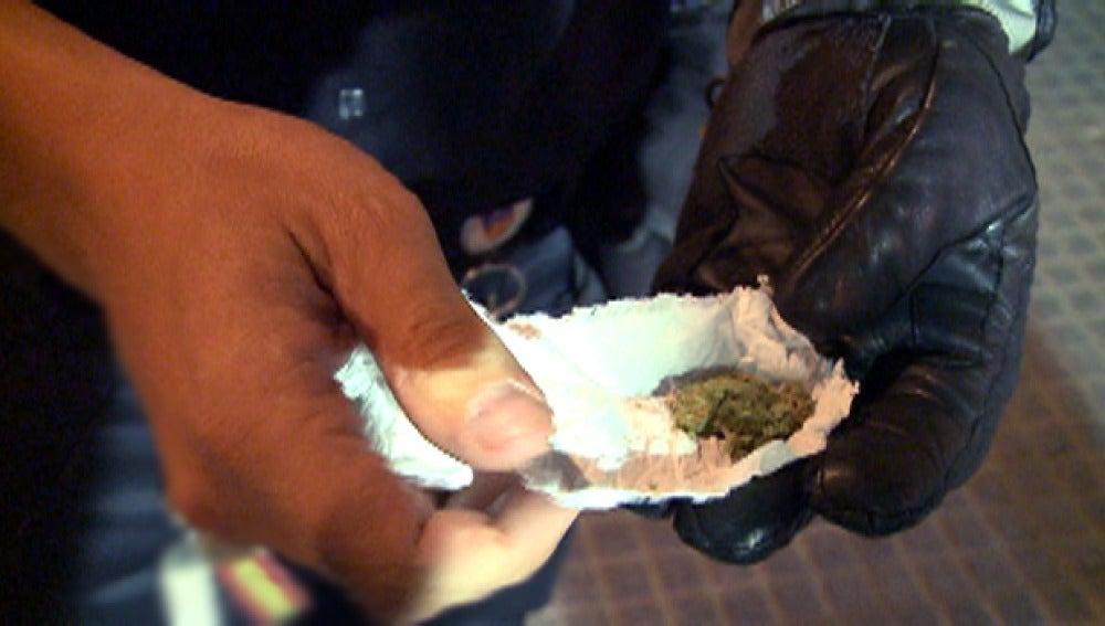 Encuentran marihuana