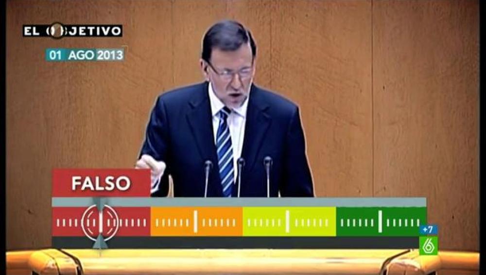 Prueba de verificación de Rajoy