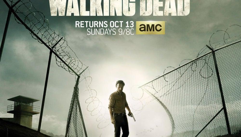 ¿Quieres ver en cine el estreno de \'The Walking Dead\'?