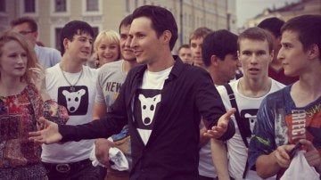 Pavel Durov, creador de Vkontakte