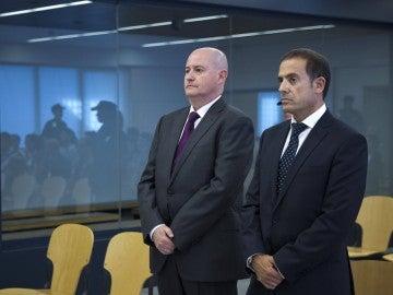 Enrique Pamiés y José María Ballesteros