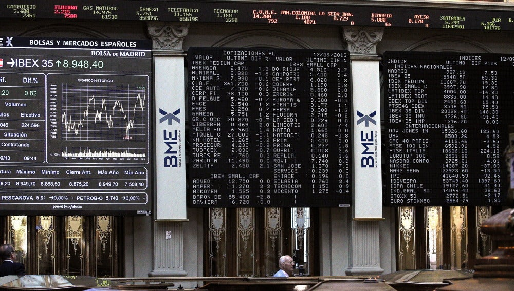 Las empresas del IBEX ganan un 9 % más y dejan atrás lo peor de la crisis