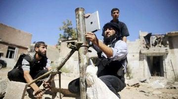 Rebeldes sirios utilizan un Ipad para lanzar misiles