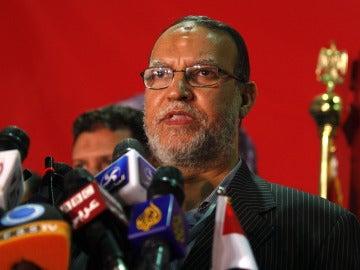 El dirigente de los Hermanos Musulmanes, Esam el Arian.